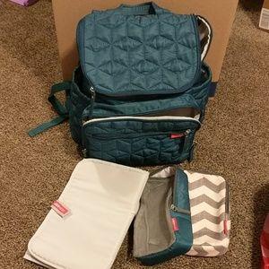 Skip hop backpack diaper bag